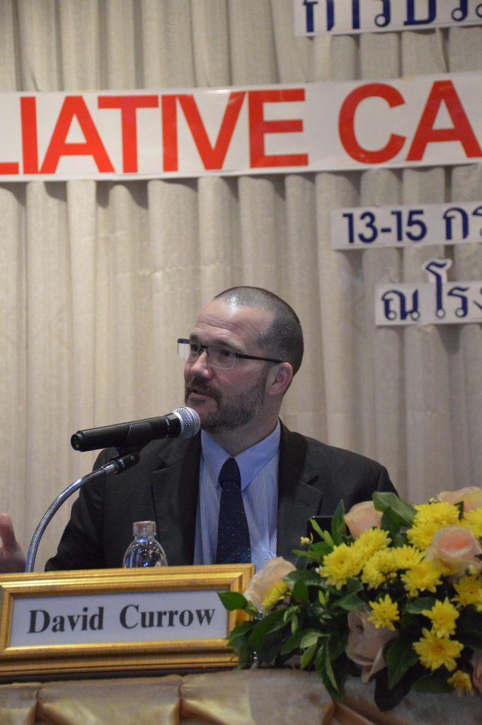 Keynote lecture : Professor David Currow