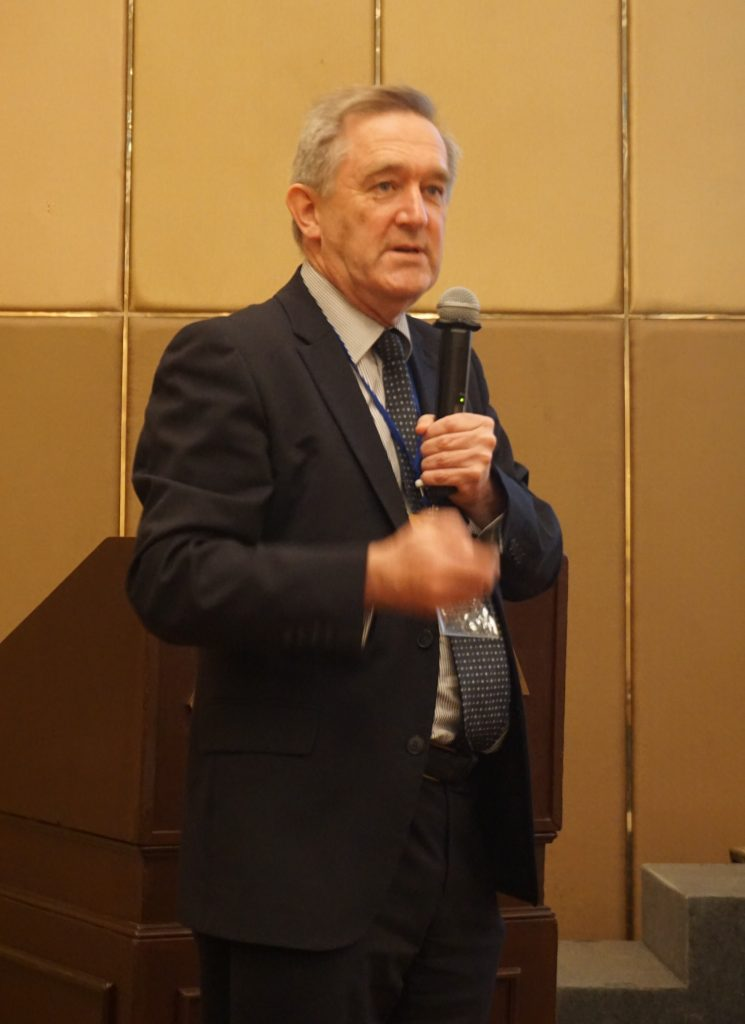 Dr Frank Brennan วิทยากร จาก St.George hospital and Calvary hospital, Sydney, Australia