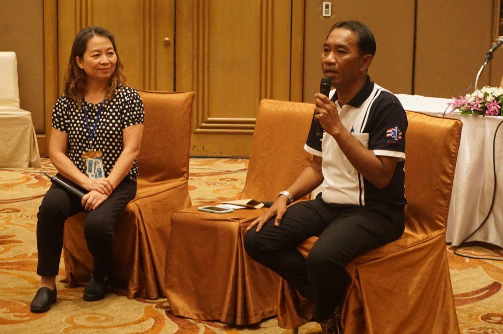 Workshop: The unheard voices from the CKD patients คุณธนพล ดอกแก้ว ประธานชมรมเพื่อนโรคไต