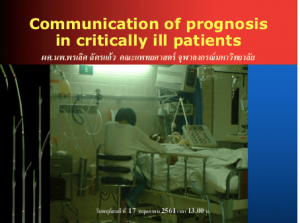 Communicate-prognosis-in-ICU-Dr-Pornlert