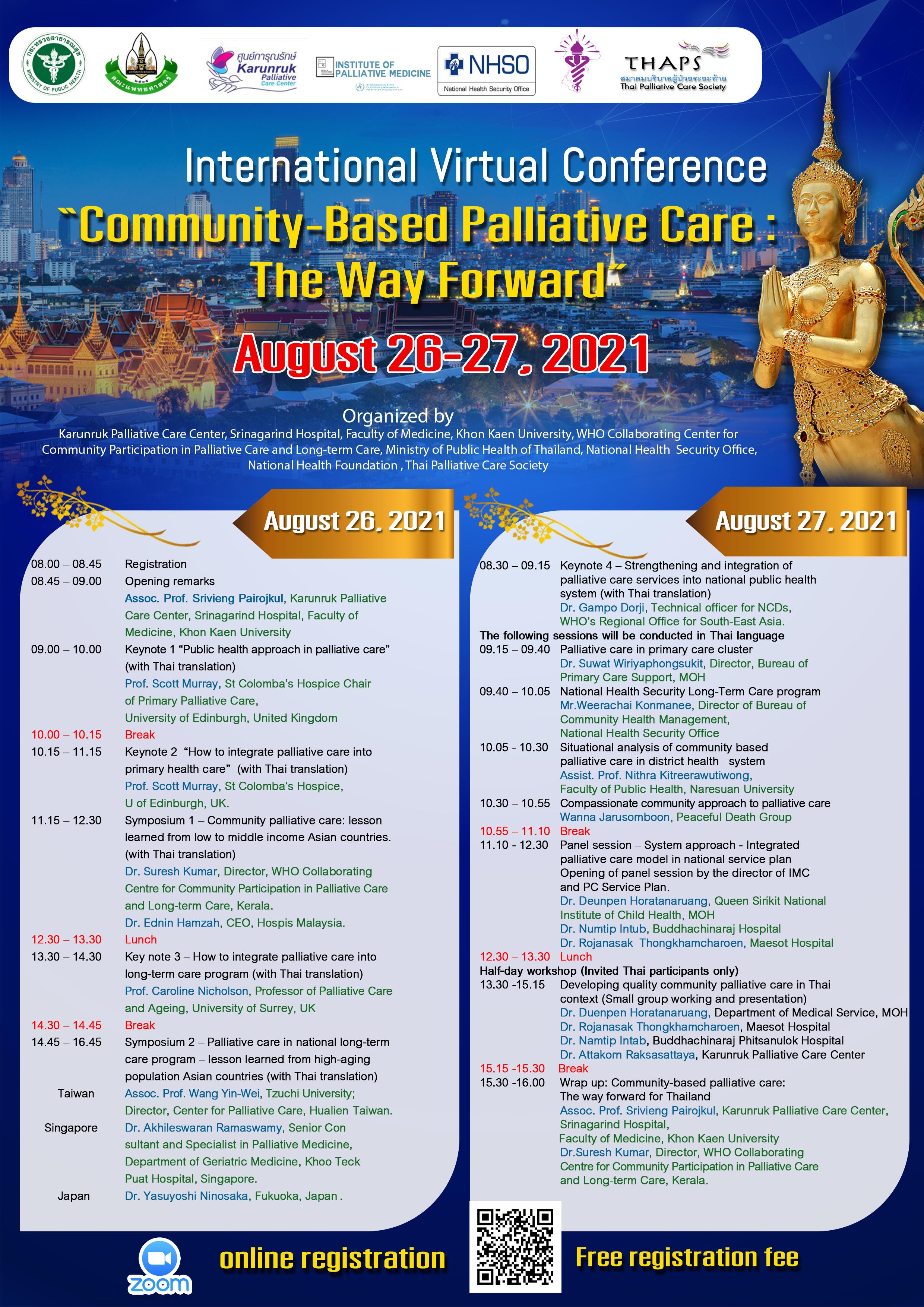 Community-Based Palliative Care